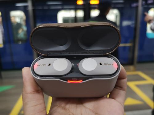 Sony resmi meluncurkan Truly Wireless Headphone terbarunya WF-1000XM3.