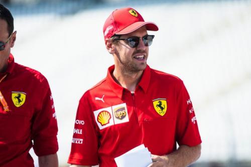 Pembalap Scuderia Ferrari, Sebastian Vettel