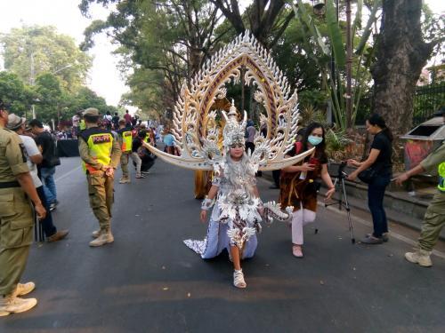 Solo Batik Carnival ramai