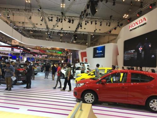 Pameran Honda GIIAS 2019
