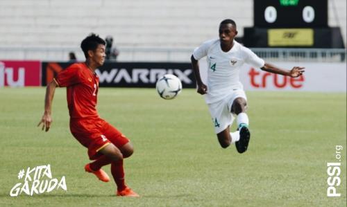 Timnas Indonesia mengalahkan Vietnam di matchday satu