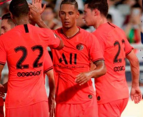 PSG unggul 1-o atas Inter Milan saat jeda (Foto: PSG/Twitter)