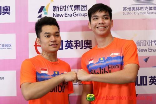 Leo/Daniel di Kejuaraan Bulu Tangkis Asia Junior 2019