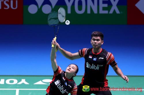 Praveen/Melati di Jepang Open 2019