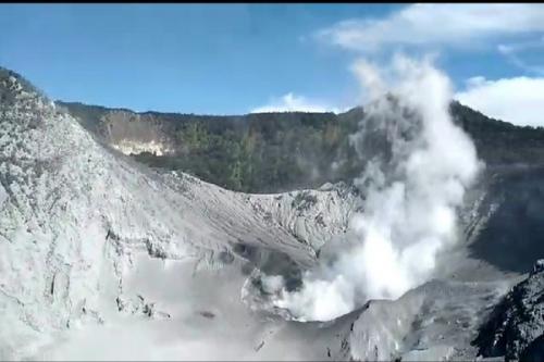 Gunung Tangkuban Parahu (foto: Ist)
