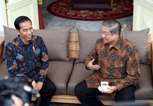 Jokowi dan SBY. (Foto: Ist)