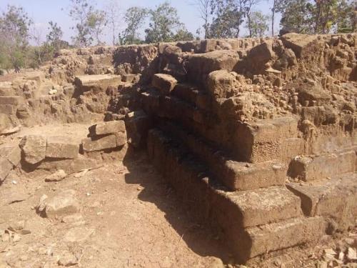 Ekskavasi Tahap Ketiga Bangunan Situs Kuno di Pataan Lamongan (BPBC Jawa Timur/Istimewa)