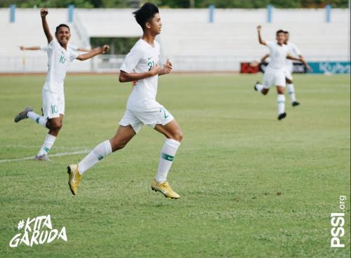 Timnas Indonesia U-15 (Foto: Twitter/@PSSI)