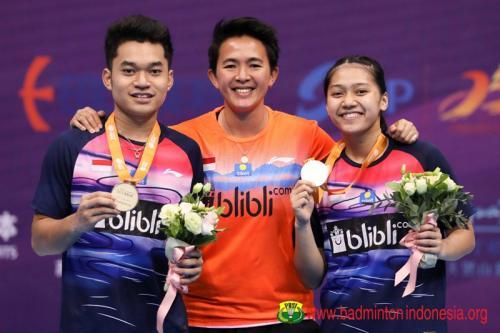 Leo/Indah di kejuaraan asia bulu tangkis junior 2019