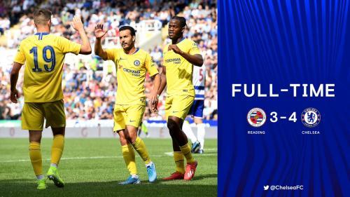 Reading vs Chelsea di laga pramusim