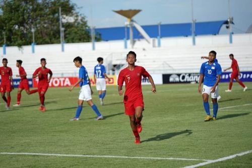 Timnas Indonesia U-15 (Foto: PSSI)