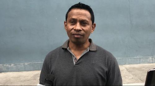 Pieter Ola membeberkan kerugian yang dialaminya akibat investasi bodong yang dilakukan Pablo Benua. (Foto: Okezone/Adiyoga Priambodo)