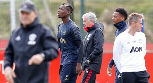 Jose Mourinho saat tangani Man United