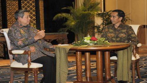 SBY dan Jokowi.