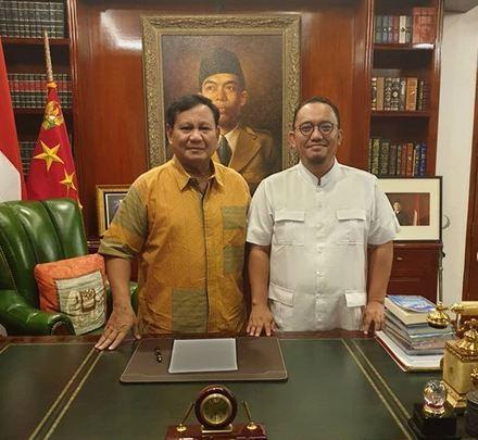 Prabowo dan Dahnil Anzar
