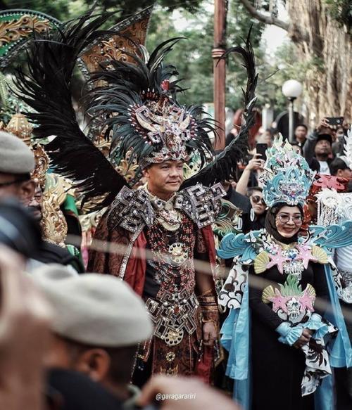 Ganjar di Acara Solo Batik Carnival
