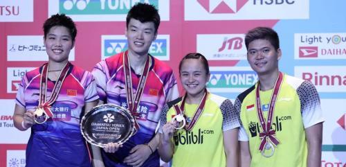 Praveen/Melati runner-up Jepang Open 2019