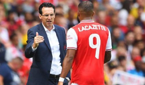 Alexandre Lacazette cetak gol kemenangan Arsenal atas Napoli