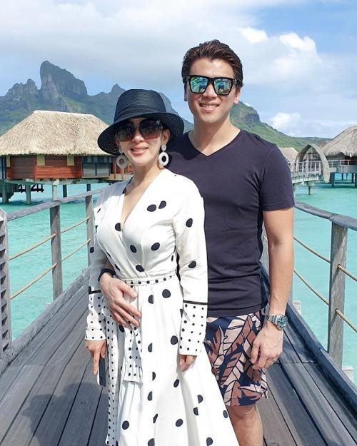 Syahrini dan Reino Barack yang menikah pada 27 Februari 2019 berharap bisa memiliki anak secepatnya. (Foto: Instagram)
