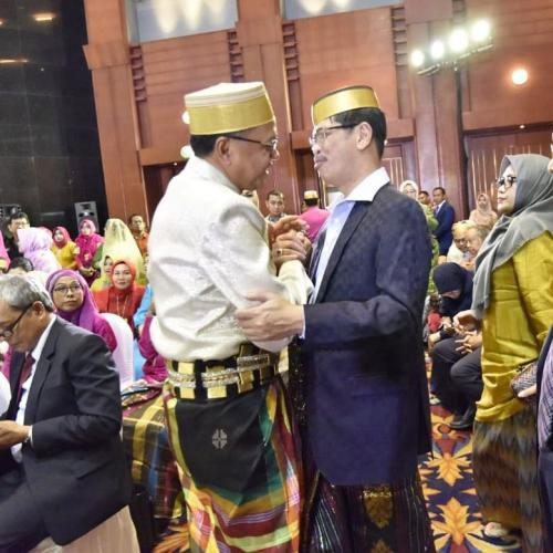 Nurdin Abdullah dengan Ichsan Yasin Limpo Semasa Hidup (foto:Ist)