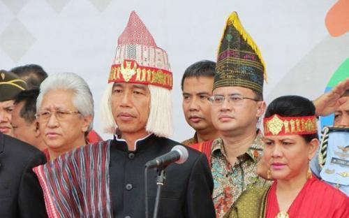 Presiden di Danau Toba