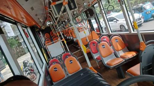 Bus Transjakarta. (Foto: Okezone)