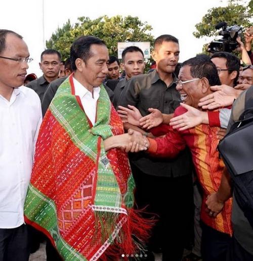 Presiden di Bandara Silangit