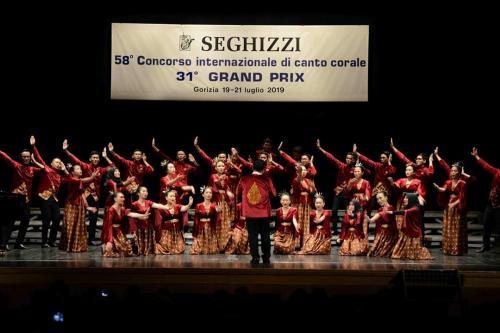 PSM Voca Erudita UNS Juara di Italia