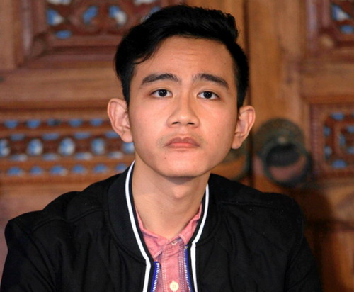 Putra Sulung Presiden Joko Widodo, Gibran Rakabuming Raka (foto: Ist)
