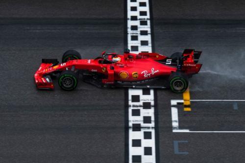 Sebastian Vettel finis kedua di Hockenheim (Foto: Situs resmi Scuderia Ferrari)