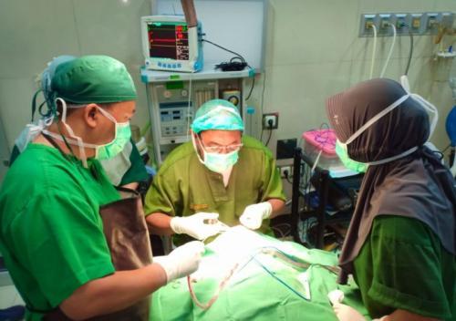 MNC Peduli dan RSU PKU Muhammadiyah Gombong Gelar Operasi Bibir Sumbing Gratis (foto: Ist)