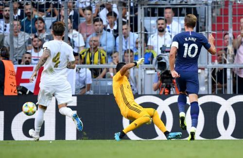 Laga Real Madrid vs Tottenham Hotspur