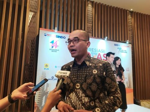 Pemimpin Redaksi Koran Sindo dan Sindonews.com Djaka Susila. (Foto : Fadel Prayoga/Okezone)