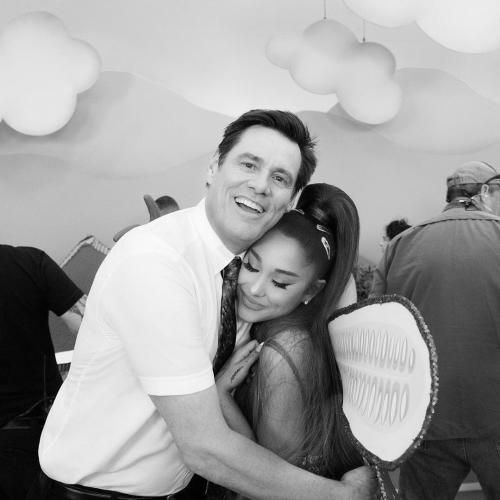 Ariana Grande dan Jim Carey