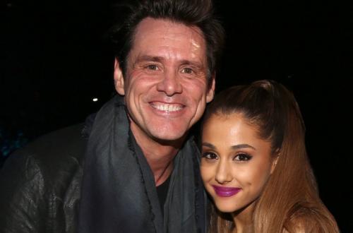 Ariana Grande dan Jim Carey berdua