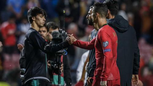 Joao Felix dan Cristiano Ronaldo