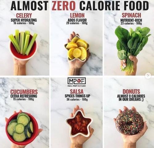 Makanan berkalori rendah