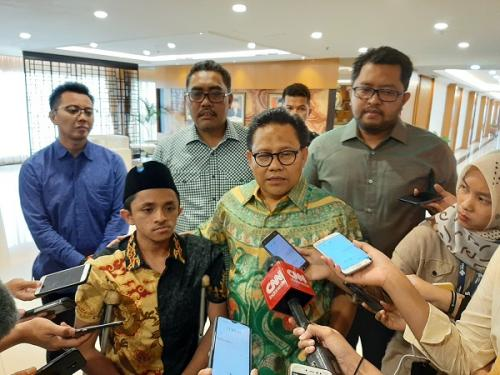 Ketum PKB Muhaimin Iskandar (Cak Imin). (Foto: Harits Tryan Akhmad/Okezone)
