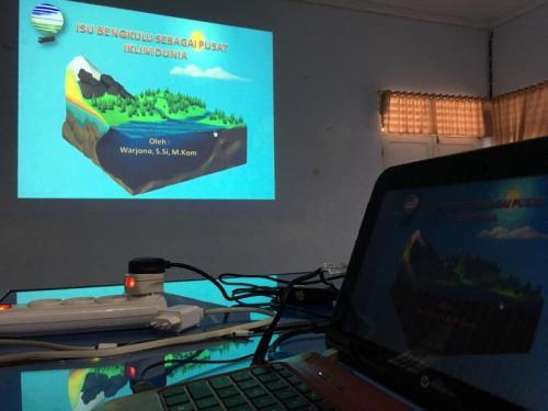 Pemaparan Bengkulu sebagai Pusat Iklim Dunia (foto: Demon Fajri/Okezone)