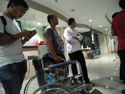 RS Pamulang Evakuasi Pasien saat gempa