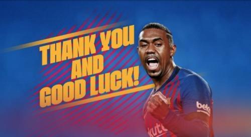 Malcom resmi pergi dari Barcelona