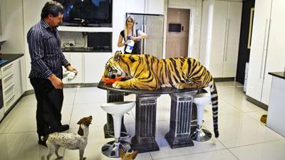 Pelihara Harimau