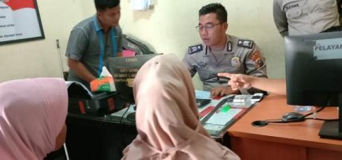 Siswi SMP di Padangsidimpuan korban pemerkosaan. (Foto: Liansah Rangkuti/Okezone)