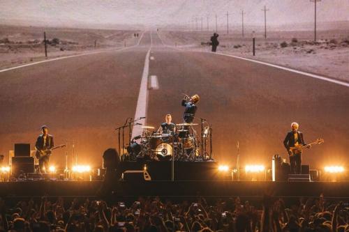 U2 menjadi pemegang rekor sebelumnya hanya dengan 110 pertunjukan. (Foto: Instagram/@u2)