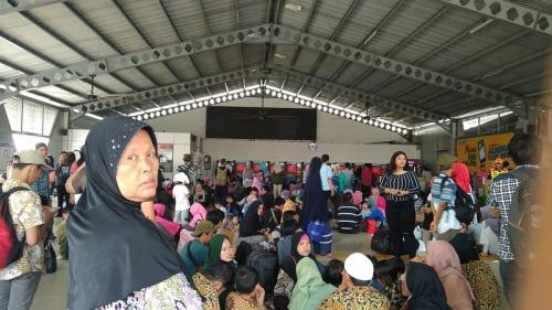 Penumpang kereta bandara memilih moda transportasi lain akibat listrik amti di Jabodetabek (Foto: Istimewa)