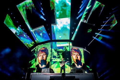 Ed Sheeran berhasil menggeser U2 sebagai musisi dengan pendapatan tur tertinggi sepanjang masa. (Foto: PK Entertainment)