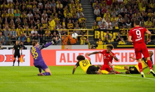 Dortmund vs Bayern (Foto: Twitter/@BlackYellow)