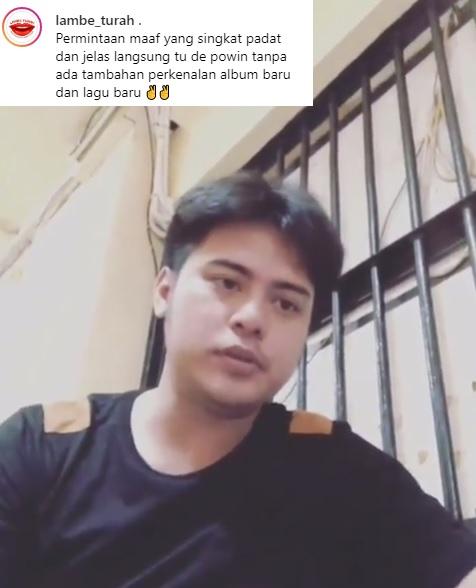 Tak cukup dengan surat, Galih Ginanjar kini meminta maaf pada mantan istri lewat sebuah video. (Foto: Instagram/@lambe_turah)