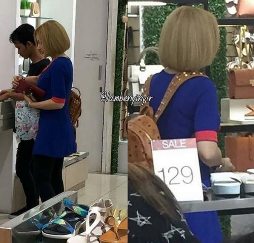 Barbie Kumalasari berburu diskon