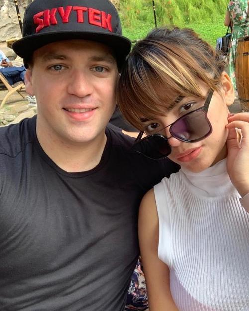 Hubungan Dinar Candy dan sang kekasih awalnya sempat dibumbui isu perselingkuhan. (Foto: Instagram)